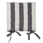 Rans - Alfresco Stripe Chair Pad Black