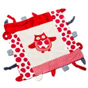 Annabel Trends - Pillow Pals Security Blanket Red