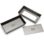 Baker's Secret - Mini Rectangular Tart Pan Set 2pce