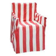 Rans - Alfresco Red Stripes Director's Chair Cover