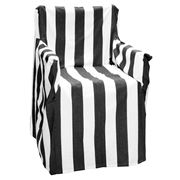 Rans - Alfresco Black Stripes Director's Chair Cover