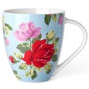 Cath Kidston - Crush Royal Rose Blue Mug