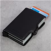 Secrid - Twin Leather Black Wallet