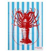 AT - Tea Towel Crayfish