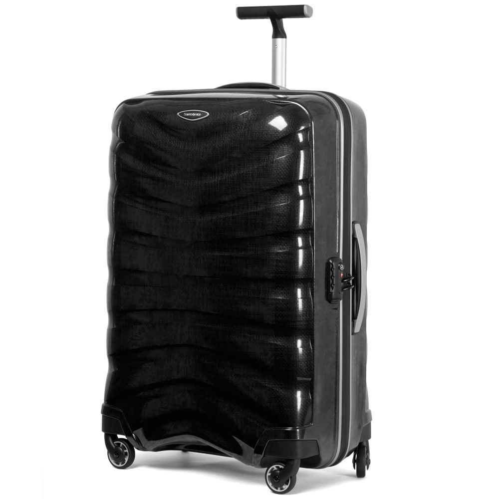 samsonite firelite charcoal spinner case 75cm peter 39 s of kensington. Black Bedroom Furniture Sets. Home Design Ideas