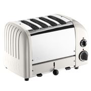 Dualit - NewGen Canvas White 4 Slice Toaster