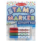 Melissa & Doug - Stamp Marker Activity Pad Set Blue
