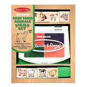 Melissa & Doug - Baby Farm Animals Stamp Set