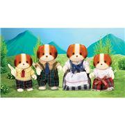 Sylvanian Families - Chiffon Dog Family