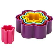 D Line - Flower Cookie Cutter Set 6pce