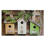 Doormat Designs - Bird Houses Doormat