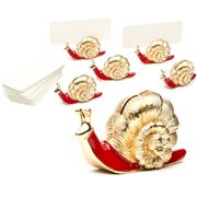 L'objet - Snail Place Card Holder Set 6pce