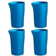 Fink - Beaker Turquoise Set 4pce