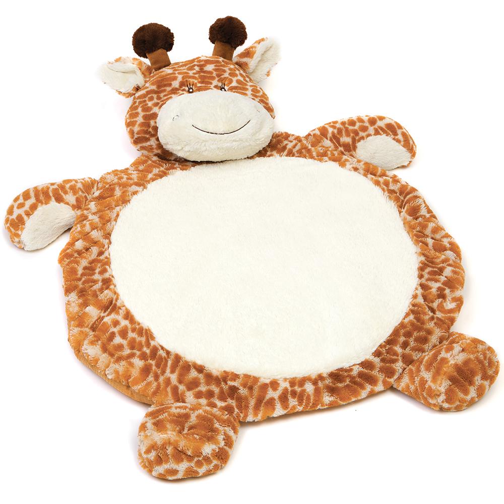 fuzzy factory  giraffe baby mat  peter's of kensington -