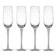 Lenox - Kate Spade Larabee Dot Champagne Flute Set 4pce