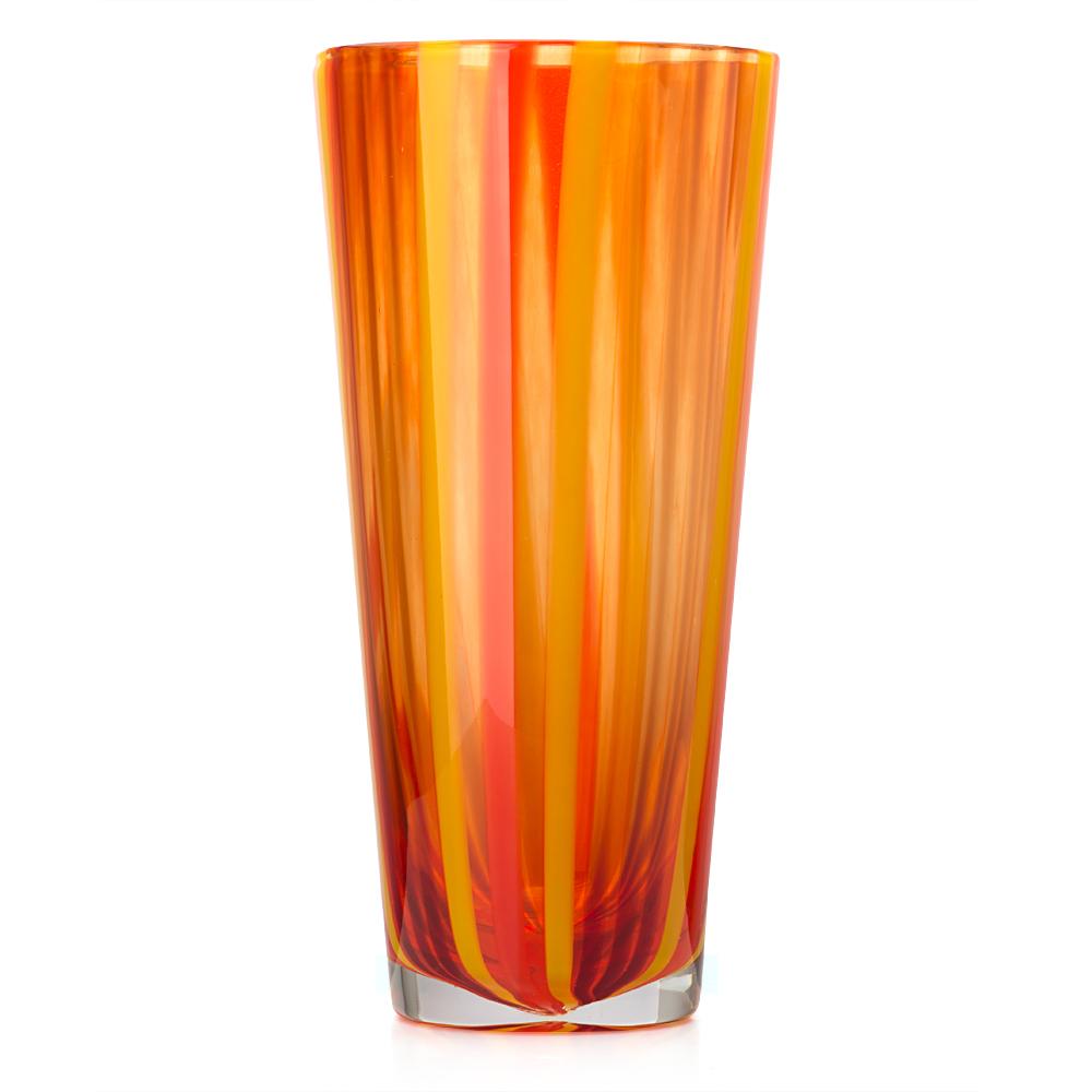 Kosta Boda Cabana Large Orange Vase Peter S Of Kensington