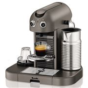 Breville - Nespresso Gran Maestria Titanium Coffee Machine