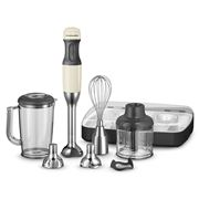 KitchenAid - Deluxe Hand Blender Almond Cream