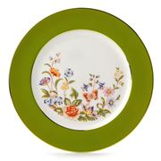 Aynsley - Cottage Garden Sweet Plate Mill Green