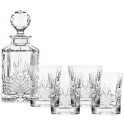 Galway - Kells Crystal Decanter Set 5pce