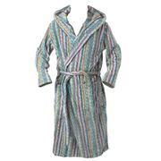 Missoni - Milo Blue Bathrobe Extra Large