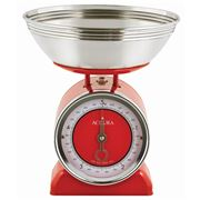 Accura - Neptune Red Mechanical Kitchen Scales