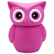 Annabel Trends -  Big Fat Owl Piggy Bank Pink