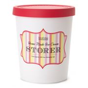 Retro Kitchen - Ice Cream Storer Tub Raspberry
