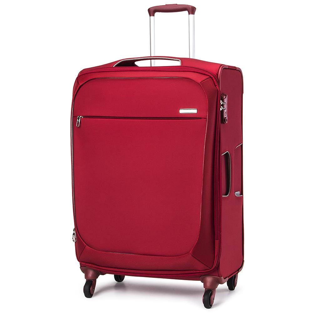 samsonite b lite xtra red expandable spinner case 71cm. Black Bedroom Furniture Sets. Home Design Ideas