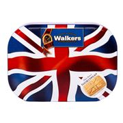 Walkers - Pure Butter Shortbread in Union Jack Tin 120g