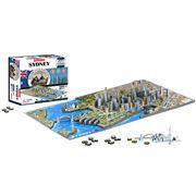 Games - 4D Cityscape Sydney Jigsaw Puzzle 1000pce