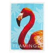 AT - Flamingo Linen Tea Towel