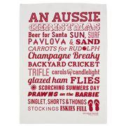 AT - Aussie Christmas Tea Towel