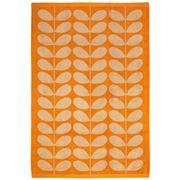 Orla Kiely - Stem Jacquard Bath Sheet Tea Rose & Orange