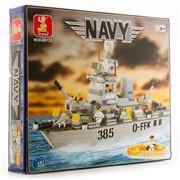 Sluban Blocks - Navy Destroyer