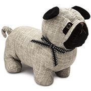 Dora Designs - Bogart the Pug Doorstop