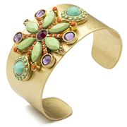 Carolee - Bright Side Dramatic Cuff Bracelet