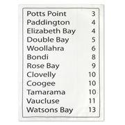 Raine & Humble - Potts Point Tea Towel