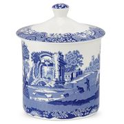 Spode - Blue Italian Storage Jar 19cm