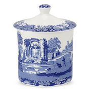 Spode - Blue Italian Storage Jar 16cm