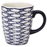 Jersey Pottery - Sardine Run Mug