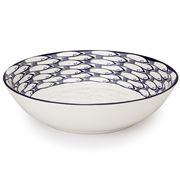Jersey Pottery - Sardine Run Salad Bowl