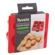 Tovolo - Sandwich Shaper Ladybug & Flower