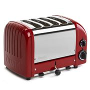 Dualit - NewGen Four Slice Toaster DU04 Red
