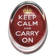 Ben's Studio - 'Keep Calm and Carry On' Paperweight
