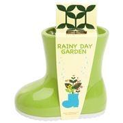 Rainy Day Garden - Mini Garden Kit with Basil Seeds