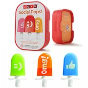 Zoku - Social Pop Ice Block Decorating Kit