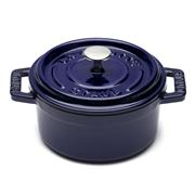 Staub - Blue Mini Round Cocotte 10cm