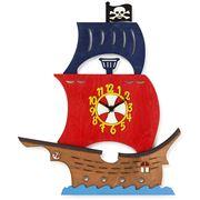 Little Timbers - Pirate Ship Clock