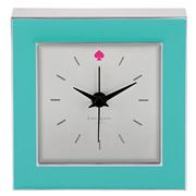 Kate Spade - Cross Pointe Turquoise Clock